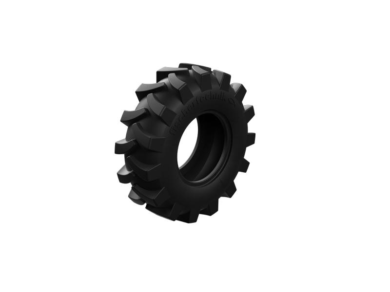Traktorreifen 80, schwarz