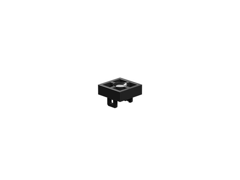 Magnetic ball holder, black