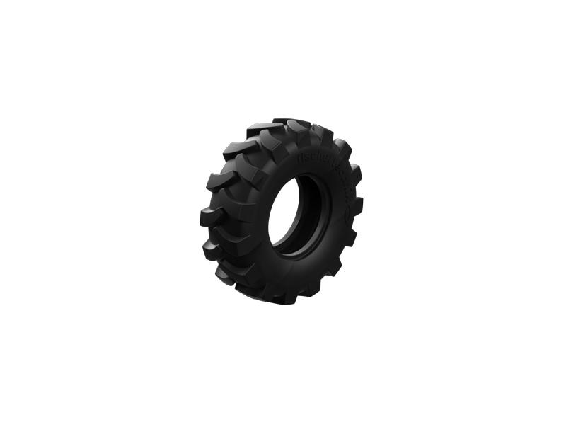 Traktorreifen 60, schwarz
