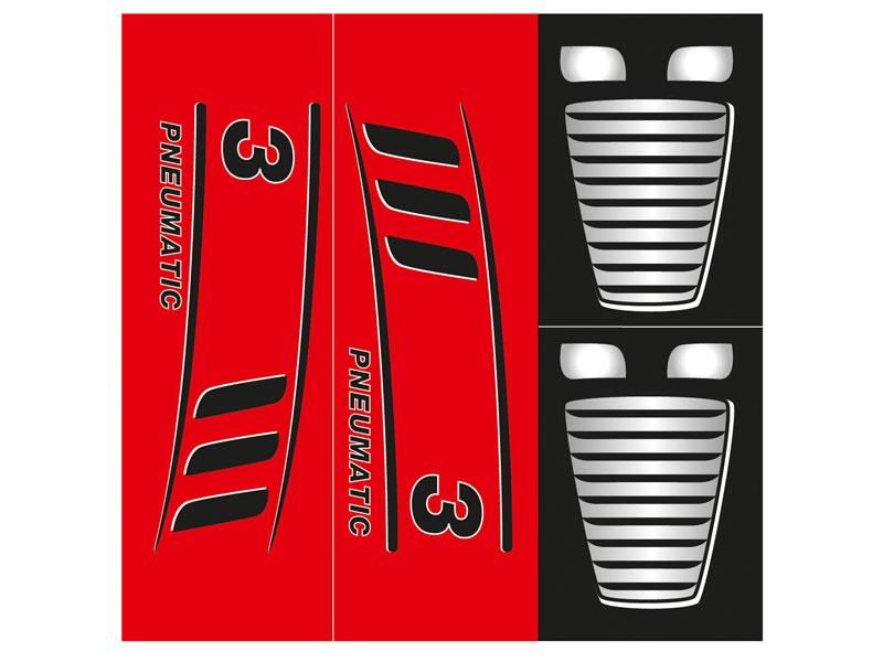 Pneumatic 3 sticker