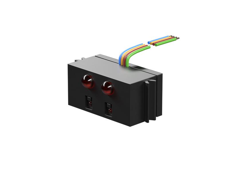 Sensor Infrarrojo-seguidor de línea, negro