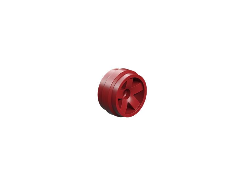 Wheel rim 20,5x12, red