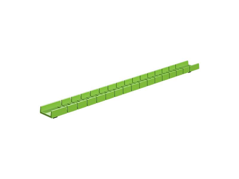 Flexible rail