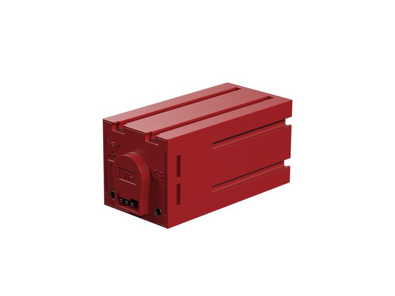 Motor-encoder 9V, rojo