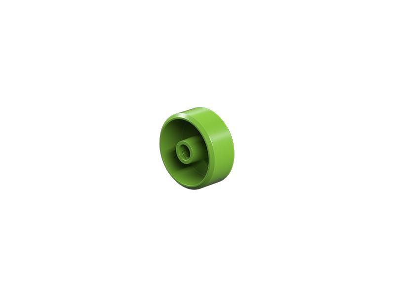 Wheel 23, green