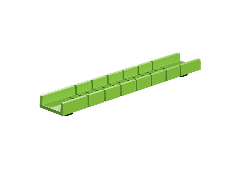 Flexible rail profile 90, green