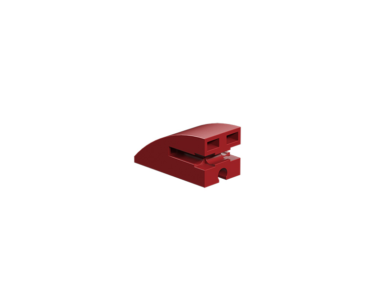 Round building block 15x30, red