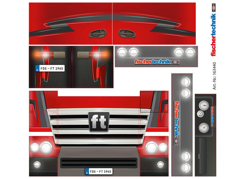 Calcamonía Trucks
