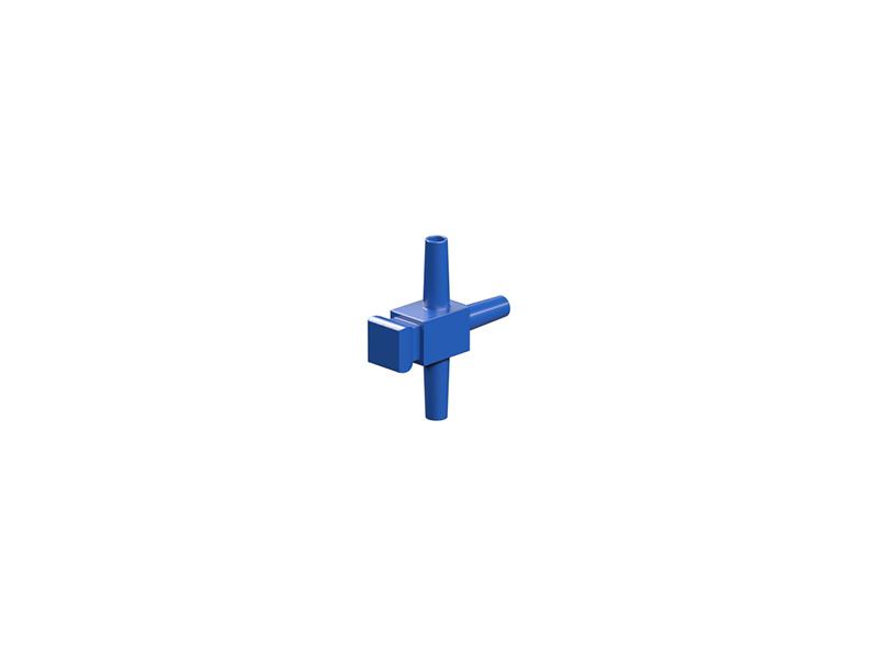 T-piece, blue