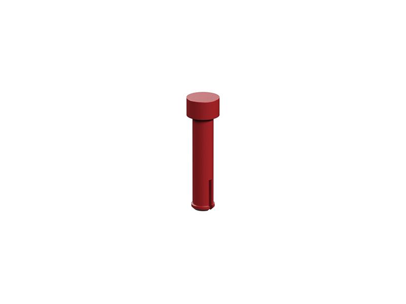 Clip axle 20, red