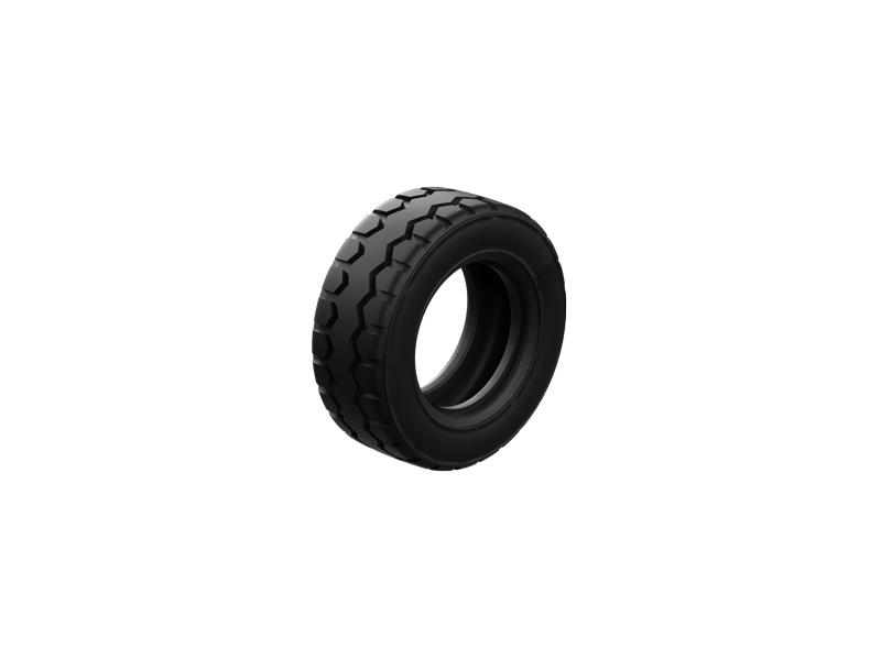 Reifen 50, schwarz