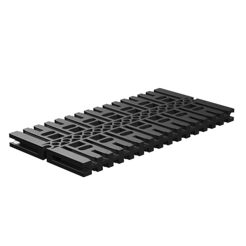 Base plate 120x60, black