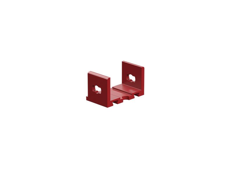 U-girder adapter, red