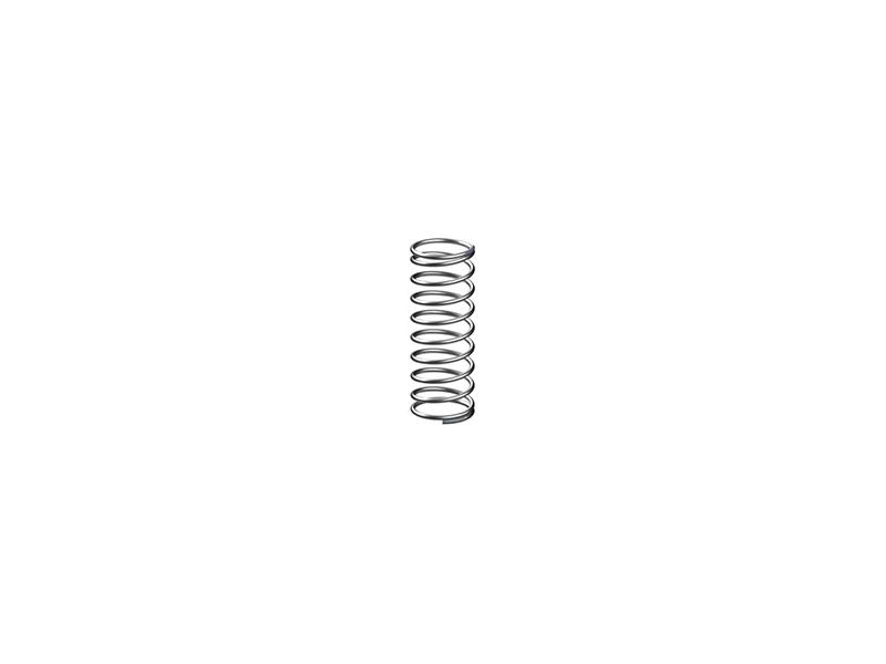 Druckfeder 0,4x5x15, silber