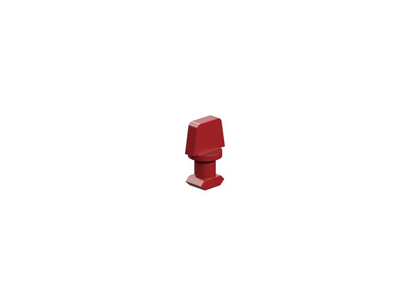 Single rivet 4, red