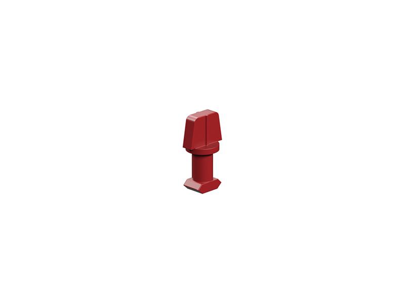 Single rivet 6, red