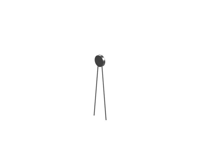 NTC-Widerstand 1,5 kΩ, silber