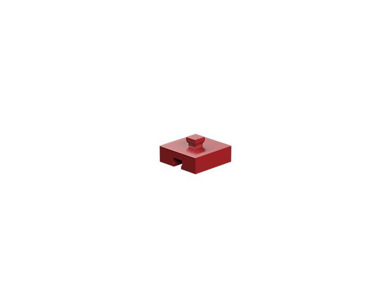 Building block 5, red
