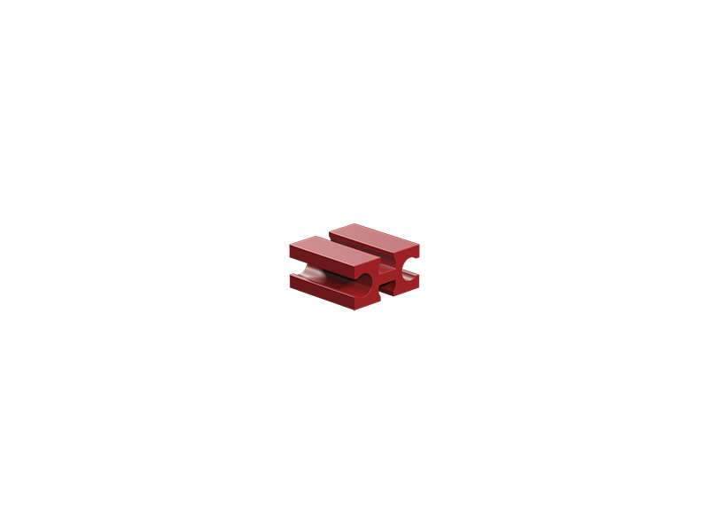 Building block 7.5, red