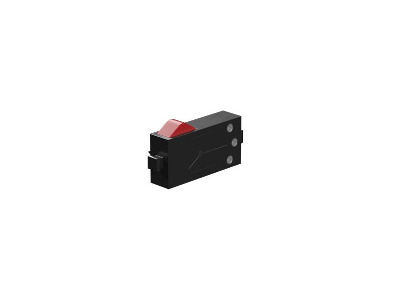 Mini-interruptor/Sensor de contacto rt, negro