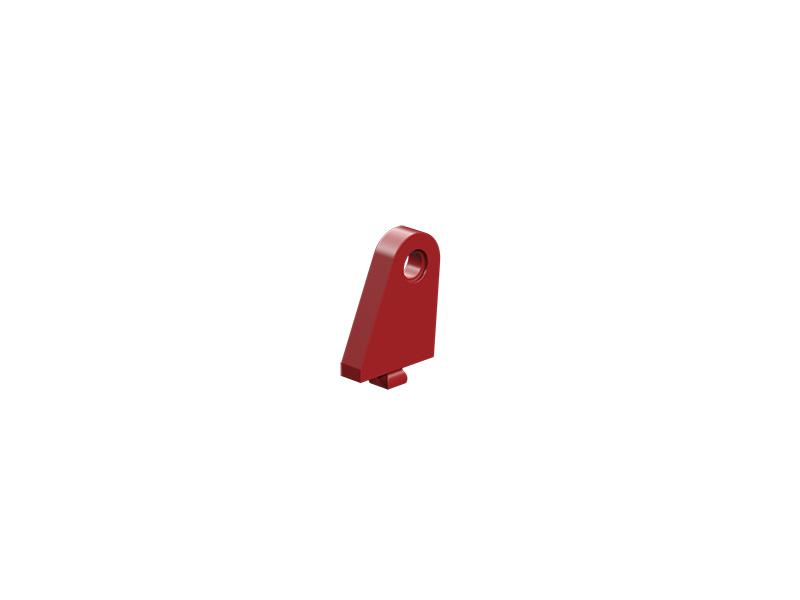 Soporte de palanca de cambios, rojo