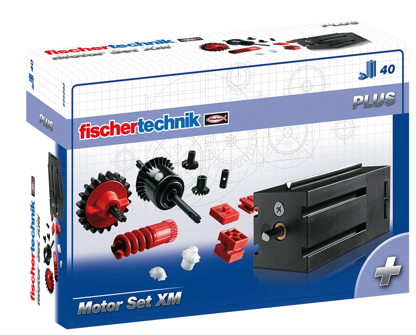 fischertechnik Plus-Motor Set XM Bau- & Konstruktionsspielzeug-Sets