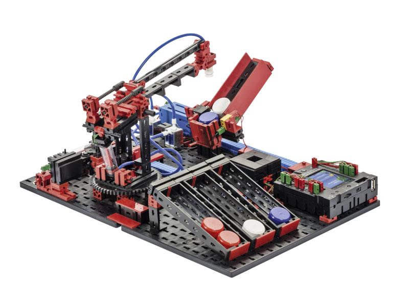 Robotics & Electropneumatics - Roboter Bausatz