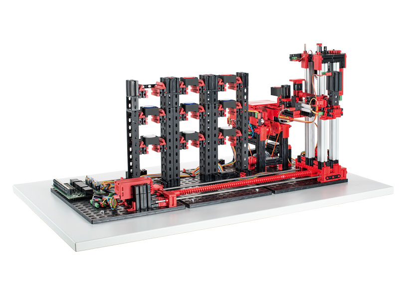 Automated High-Bay Warehouse 24V - Education